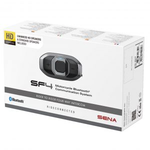 Sena SF4 Bluetooth Headset HD Speaker